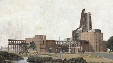 Port of Melbourne, Yarraville Oil Terminal and Coode Island petrochemical storage by Mitchell Sack, Melbourne School of Design.