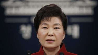 Former South Korean president Park Geun-hye was ousted on corruption charges in March 2017.