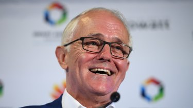 Former prime minister Malcolm Turnbull has been touring Europe this week and treating audiences to his trademark wit.