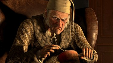 Middle aged people must ask themselves if they're on the road to becoming Ebenezer Scrooge?