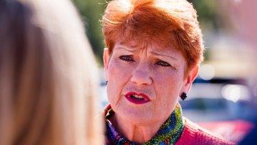 One Nation leader Pauline Hanson has a critical vote on the superannuation legislation.