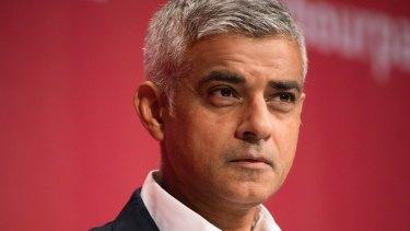 London mayor Sadiq Khan is having a war of words with the US President.