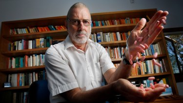 Dr Ken Harvey in 2014.