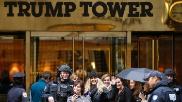 Trump was renowned for showing off various memorabilia to visitors at his Trump Tower home.
