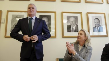 """Deputy Prime Minister Michael McCormack says deputy Nationals leader Bridget McKenzie """"is very much pro-live exports""""."""