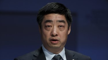 Huawei rotating chairman and current deputy chairman Ken Hu.
