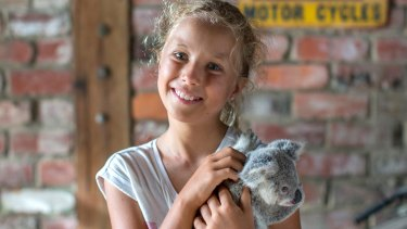 Izzy Bee, 13, is the star of Netflix's Izzy's Koala World.