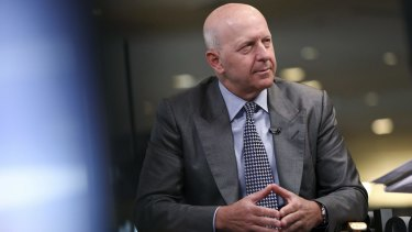 Goldman Sachs chief David Solomon started 2020 on the back foot but has impressed during the pandemic.