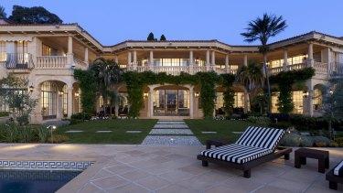 The Point Piper home Villa Del Mare.