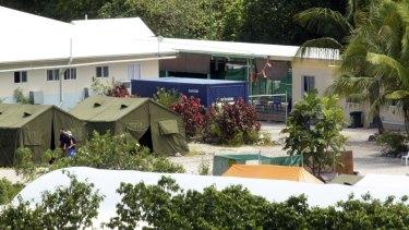 The Nauru detention centre in 2012.