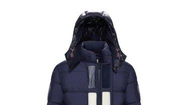 Moncler Glacier hoodie, $2000.