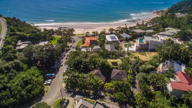 Mr Hayez checked into a hostel in Byron Bay on May 29.