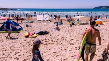 Experts fear COVID may be pushing people towards unpatrolled beaches because they are less crowded.