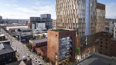The campus-style office building has been designed by John Wardle Architects.