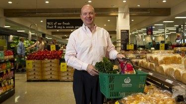 Woolworths chairman Gordon Cairns.