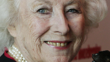British singer Vera Lynn at the 2009 Women of the Year Awards lunch, in central London.