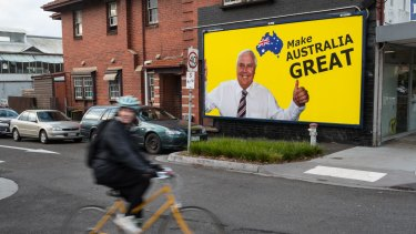 Clive Palmer spent up big in his bid to return to parliament.