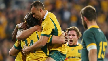 Quade Cooper played 70 Tests for Australia.