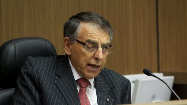 Former ICAC commissioner David Ipp, QC.