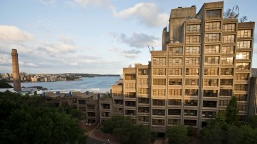 The Sirius building in The Rocks, Sydney.
