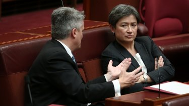 Mathias Cormann and Penny Wong will jointly condemn Fraser Anning for his actions in a censure motion.