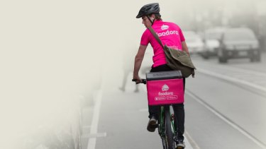 Foodora is multimillion-dollar company that employs people to deliver food on bicycles.