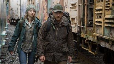 Tom (Thomasin Mckenzie) and Will (Ben Foster) in Debra Granik's drama Leave No Trace.