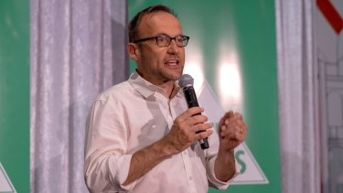 Adam Bandt said international offsets will delay the push to renewable energy.