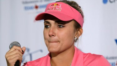 Lexi Thompson's passport issue causes 40 players to miss Women's British Open practice round.