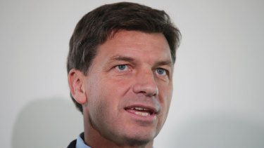 Energy Minister Angus Taylor pushed for a new reference point to compare both standing and market offers for power bills.