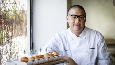 Dan Hong went from slack student to executive chef.