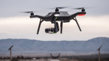 Drones may one day be an answer to the problem of  having enough carers  for an ageing population.