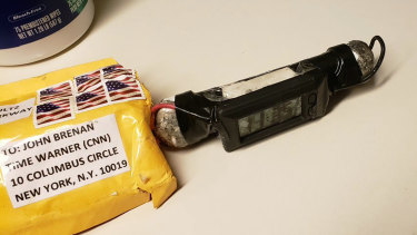 All the packages looked similar and contained similar pipe bomb devices.