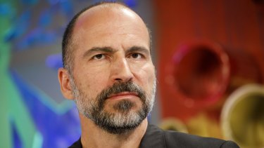 "Uber chief Dara Khosrowshahi warned staff in an email that the company was facing ""another tough day in the market."""
