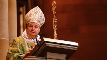 Archbishop Anthony Fisher said parishioners should not be quick to judge.
