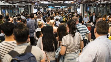 Sydney's rail network suffered widespread delays and cancellations to services in Janaury.