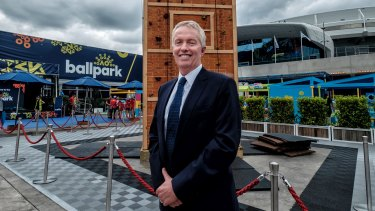 Tennis Australia boss Craig Tiley is banking on fewer spectators.