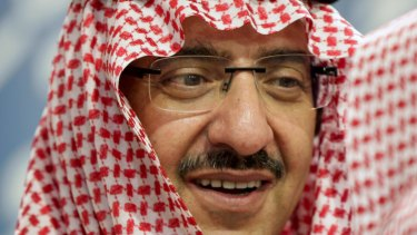 Detained: Prince Mohammed bin Nayef.