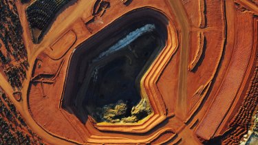 Lynas's Mount Weld mine in Western Australia, the richest known rare earths deposit in the world.
