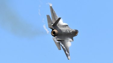 Australia's newest warplane, the F-35 Joint Strike Fighter.