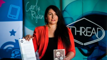 Sonya Ryan worked with politicians to introduce ''Carly's Law'' which targets online predators.