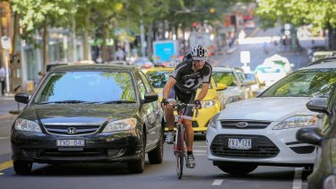 The council is hoping to turn Melbourne into Australia's premier cycling city.