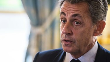 """Former French president Nicolas Sarkozy: dubbed """"thin-skinned"""" by US diplomats and an """"emperor with no clothes""""."""