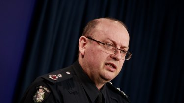 Chief Commissioner Graham Ashton wants a stronger support network for serving and former police.