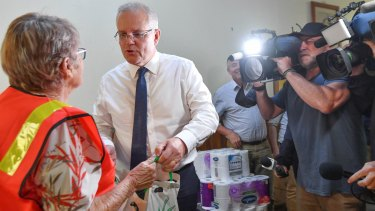 Prime Minister Scott Morrison is promising significant help for small businesses devastated by bushfires.