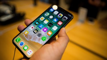 Many users have complained online about unresponsive iPhone X screens.