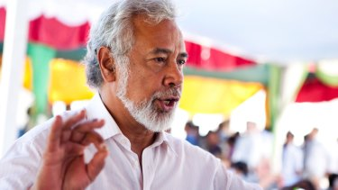 Former resistance leader Xanana Gusmao became East Timor's first post-independence president and its fourth prime minister.