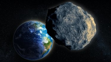 """File photo: It's """"near Earth"""" but not a threat – scientists are keeping a close eye on an asteroid set to pass by this weekend."""