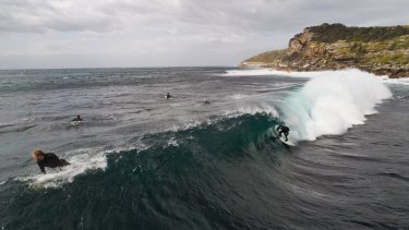 Dangerous surf conditions are predicted in Sydney on Tuesday evening.