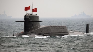 The US wants to be able to punch holes in any China advance in the Pacific.